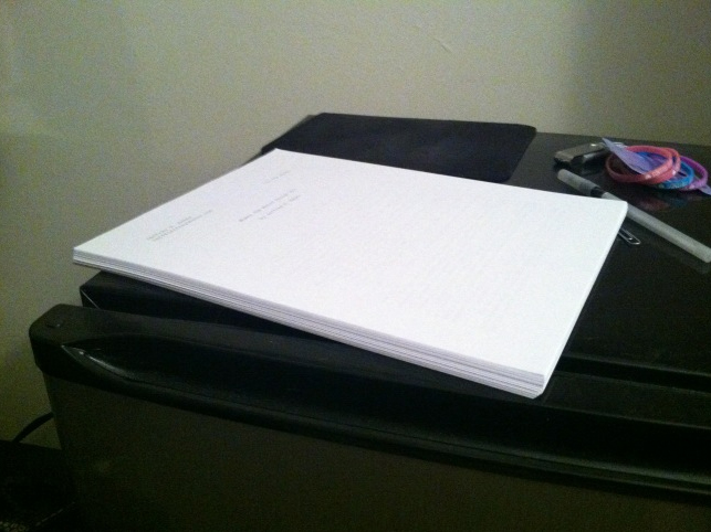 80 pages of my novel